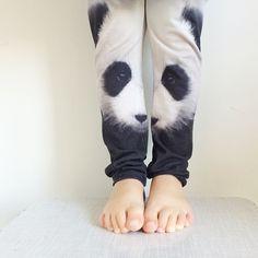 We <3 panda leggings.