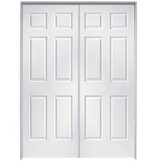 This Is An Affordable Hollow Core Molded Interior Double Pre Hung Door.