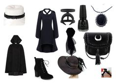 """""""Black thing 3"""" by melloushimawa on Polyvore featuring moda, China Glaze, Journee Collection y KOCCA"""
