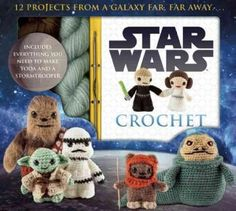 <div>An out-of-this-world crochet adventure, the <i>Star Wars Crochet</i> kit offers a fun and interactive experience by including a full-color paperback book with step-by-step instructions for crocheting<i>Star Wars'</i> most memorable characters, plu...