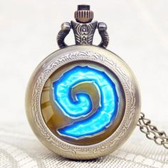 WoW World of Warcraft Hearthstone Quartz Pocket Watch