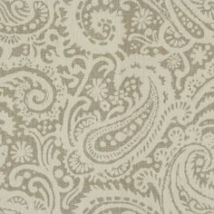 Handsome paisley grey fabric by Baker Lifestyle. Item PP50371.930.0. Low prices and free shipping on Baker Lifestyle fabrics. Search thousands of luxury fabrics. Only first quality. Swatches available. Width 54.5 inches.