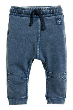 Joggers - Denim blue - Kids | H&M GB 1