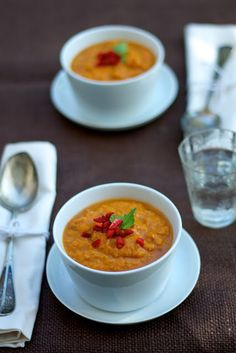 Jamie Oliver's Sweet Potato & Chorizo soup