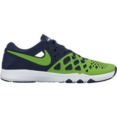 Men's Nike Navy Seattle Seahawks Train Speed 4 NFL Kickoff Collection Shoes