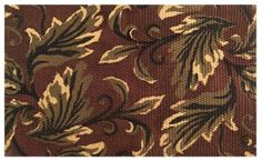 Imports Decor Natural Jute Doormat with Latex Backing, Multi-colored Leaf Pattern, 36-Inch by 24-Inch by Imports Décor. Save 11 Off!. $38.99. Hand woven in a beautiful leaf pattern and rich colors of dark red, black and natural. 100-percent jute door mat with black latex backing. Durable, long-lasting and highly sustainable. Measures 36-inch by 24-inch. Welcome your guests with this attractive natural jute door mat from Imports Decor. Hand woven in a beautiful pattern of leaves an...