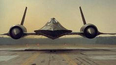 ・・・ This is speed! The fastest plane ever - Lockheed Blackbird Military Jets, Military Aircraft, Fighter Aircraft, Fighter Jets, Jet Plane, Us Navy, Air Force, Airplanes, Blackbirds