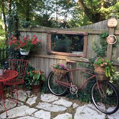 Garden Whimsy in Illinois