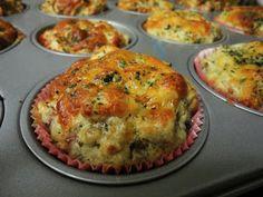Eet goed, Voel je goed: Mini Ei-Pizzaatjes. Leuk voor de schoollunch ipv boterhammen.
