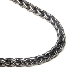 Titanium 7MM Wheat Chain Link Necklace 18 * Visit the image link more details.(This is an Amazon affiliate link and I receive a commission for the sales)