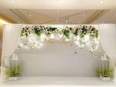 Amore plus wedding Wedding Reception Backdrop, Wedding Stage Decorations, Engagement Decorations, Wedding Table, Diy Wedding, Dream Wedding, Wedding Designs, Wedding Styles, Elegant Wedding
