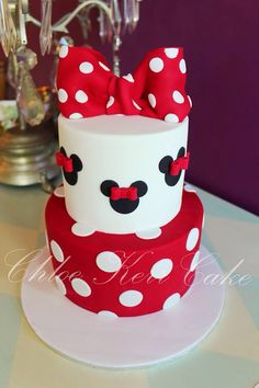 Minnie Mouse birthday cake                                                                                                                                                                                 More