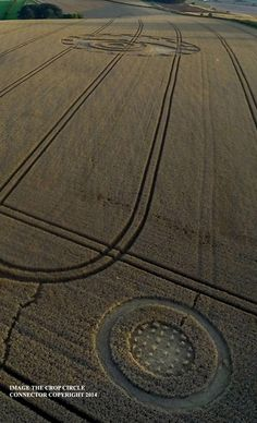 Crop Circle at The Ridgeway (2), Nr Hackpen Hill, Wiltshire, United Kingdom. Reported 6th August 2014