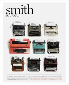 typewriters of writers