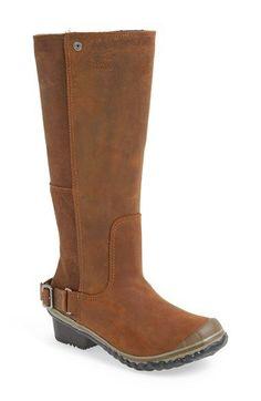 SOREL 'Slim' Waterproof Tall Boot (Women)   Nordstrom