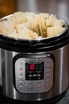 Authentic Pork Tamales made from scratch are a flavorful and delicious Mexican recipe. These step by step instructions using your Instant Pot are so easy! Tamale Meat Recipe Pork, Recipes With Enchilada Sauce, Tamale Sauce, Raw Food Recipes, Pork Recipes, Mexican Food Recipes, Cooking Recipes, Mexican Dishes, Authentic Tamales Recipe