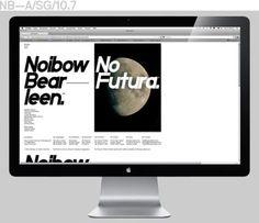 Neubau / NB-Grotesk K (Kursiv) / Promotion / Website / 2010