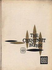 College Yearbook Kent State University Kent Ohio Chestnut Burr 1960