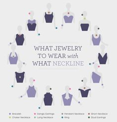 And figure out what type of jewellery looks best with your dress using this chart.