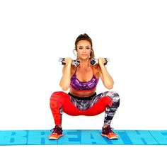 Skye's lower body workoutwill help lift your butt, tone your legs. It is designed to strengthen your posterior chain, arguably your body's most important grouping of muscles. | http://Health.com