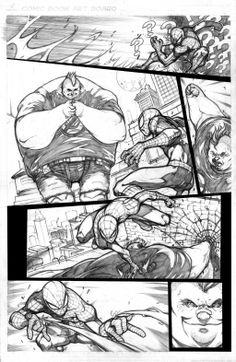 DeviantArt: More Like Rain over GC, another meeting another sketch by biroons Comic Book Layout, Comic Book Pages, Comic Books Art, Book Art, Arte Dc Comics, Manga Comics, Storyboard, Game Design, Art Drawings