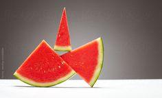 Watermelon in equilibrium. by Eduard Bonnin Turina