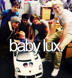 <3 she us soo lucky to have them looking out for her and taking care if her (: they are soo good to Lux  sooo sweet <3