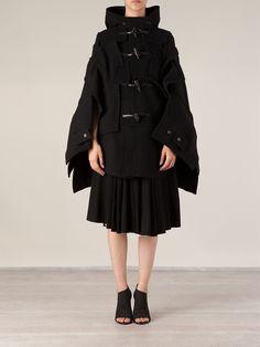 Junya Watanabe Comme Des Garçons Layered Design Oversized Cape - - Farfetch.com