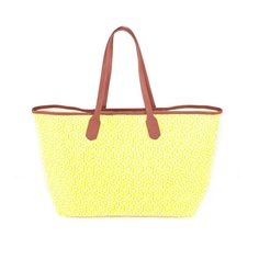 MISCHA jet set tote - canary yellow. LET THE SUN SHINE IN !