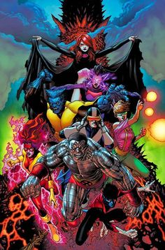 X-Men •Andy Clarke