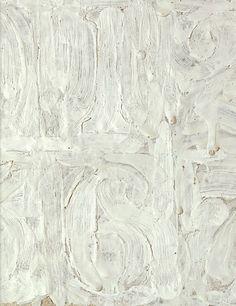 Jasper Johns 0 to 9 (detail) 1962 Franz Kline, Robert Rauschenberg, Willem De Kooning, Jackson Pollock, Richard Diebenkorn, Texture Art, Texture Painting, Joan Mitchell, Mark Rothko