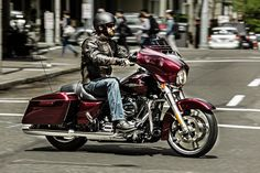 The Street Glide became a top selling machine in motorcycling for three reasons. 1. The Look. 2. The Sound. 3. The Feel. A few minutes in the saddle is all it takes to discover what you need to know. | 2015 Harley-Davidson Street Glide