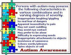 Autism Awareness!