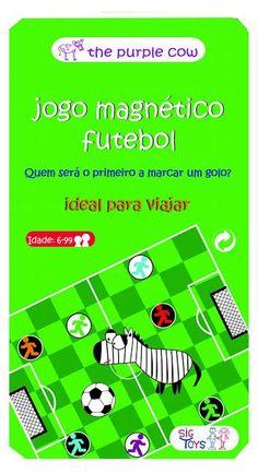 Brinquedos e Jogos : Jogo magnético futebol