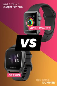 Apple Watch Vs Garmin - Which Watch Is Right For You? Indoor Rowing, Indoor Track, Running Gps, Running Watch, Gps Watches, Cool Watches, Apple Watch Features, Training Plan, Fitness Tracker