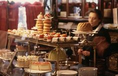 Pastries on display at the Cafe Demel in Vienna (© Bob Krist/Corbis)