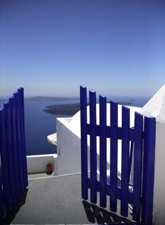 Vlies fotobehang Grieks zeezicht
