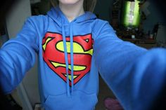 superman #clothes #outfit #followback #girlstuff #hipster #hoodie