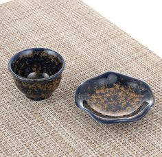 Cheong-cheon-mok Crystalline Glaze Tea cup and saucer. More Information: https://www.facebook.com/pages/ysGayayo/339056266284380
