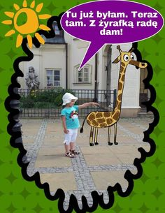Takie oto cuda dostajemy od naszych Fanów! :) Slippers'y na wakacjach! ;)  Żyrafa z www.SlippersFamily.com