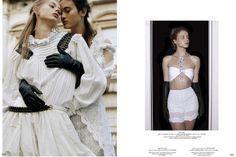 more #venus in 'Revelations' by Amanda Charchian for Garage SS 2016. Models: Greta Varlese, Billie Porter, Georgia May Jagger, Isabella Emmack, & ?.