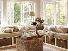 Window seat ideas ~ My Simply Special