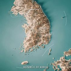 City Layout, Fantasy Map, Earth From Space, Map Art, Civilization, Geography, Korea, History, Travel