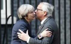 """Jean-Claude Juncker has said that there will be an """"autopsy report"""" after his dinner with Theresa May tonight as the Prime Minister seeks to break the deadlock over Brexit negotiations Best Comedy Shows, Vote Leave, The Daily Telegraph, Emmanuel Macron, Theresa May, All Or Nothing, Down South, Comic Character, The Guardian"""