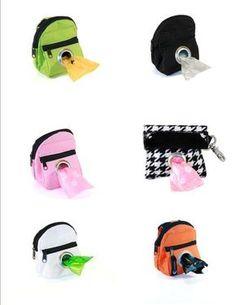 Pet Dispenser Waste Poop Dog POO Puppy Pick Up Bags Pick Color | eBay