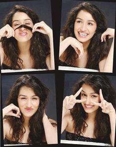 Cutest expressions of Shraddha Kapoor Bollywood Heroine, Beautiful Bollywood Actress, Beautiful Indian Actress, Prettiest Actresses, Beautiful Actresses, Indian Celebrities, Bollywood Celebrities, Sraddha Kapoor, Ranbir Kapoor