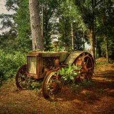 Beautiful Old Tractor.