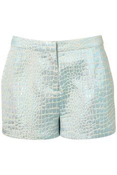 mermaid mint shorts - short vert pastel pour un look de sirène