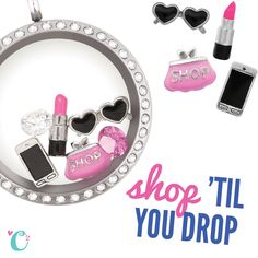 Shop till you drop! Love this new creative and fun jewelry line. I'm also selling it. Email me c.cruz235@yahoo.com