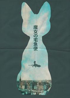 kiki's delivery service poster.